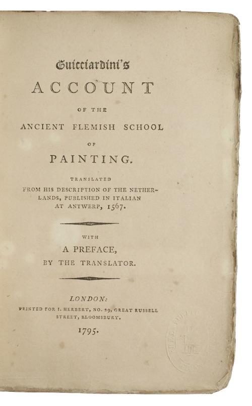 "Photo of ""Guicciardini's account of the ancient ..."""