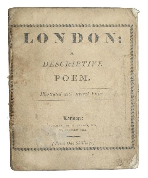 """Photo of """"London: a descriptive poem"""""""