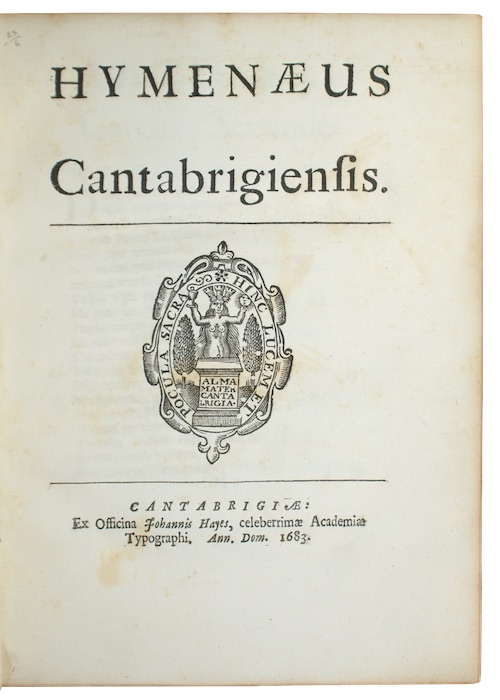 "Photo of ""Hymenaeus Cantabrigiensis"""