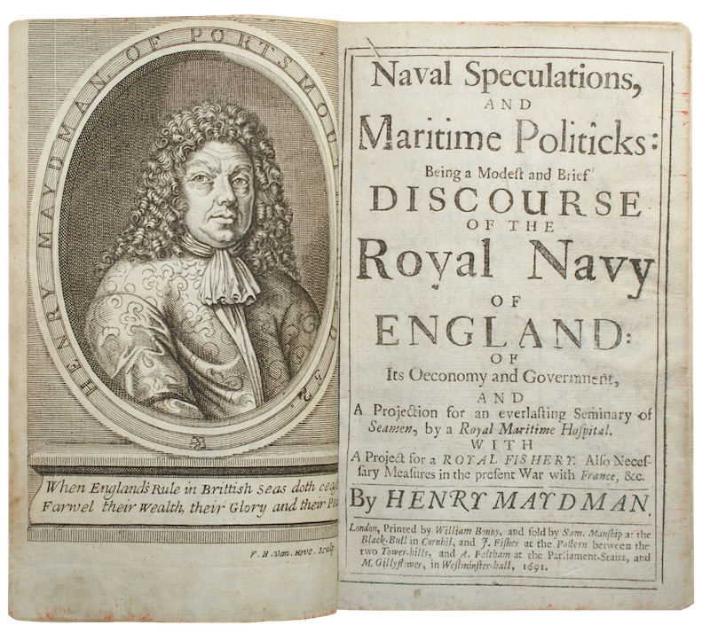 "Photo of ""Naval Speculations, and Maritime Politicks: ..."""