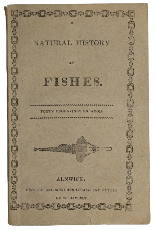 """Photo of """"A natural history of fishes"""""""