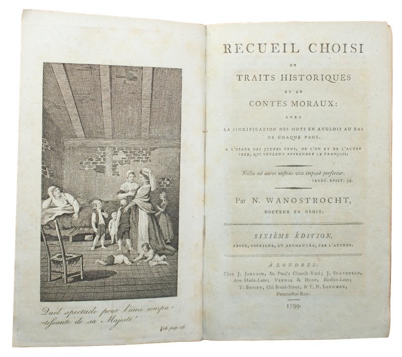 """Photo of """"Recueil choisi de traits historiques ..."""""""