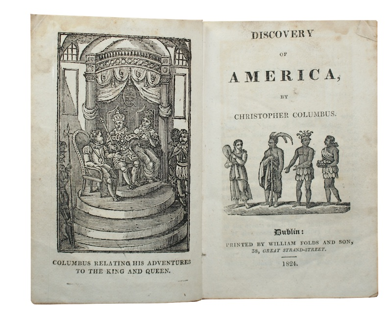 "Photo of ""Discovery of america, by christopher ..."""