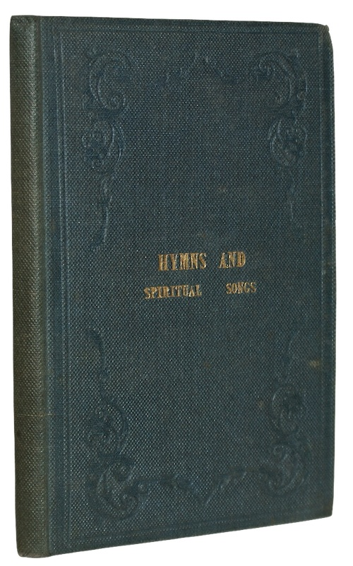 "Photo of ""Hymns and spiritual songs"""