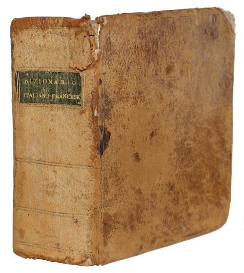ALBERTI DI VILLANUOVA, Francesco  - Nuovo dizionario portatile, italiano-francese, compend...