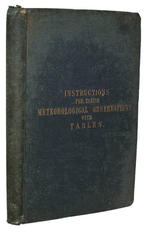 """Photo of """"Instructions for taking meteorological observations; ..."""""""